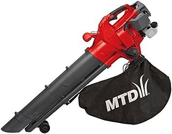 MTD 41AS0BU0678 Aspirador de Gasolina, Rojo, 31 cc: Amazon.es: Bricolaje y herramientas