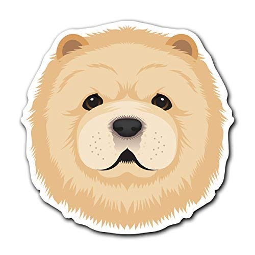 - MFX Design Magnet Chow Chow - Dog Breed Decal Sticker for Car Truck Magnet car Truck Magnetic Vinyl Sticks to Any Metal surface5.1 in x 5.1 in (12.9 cm x 12.9 cm)