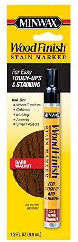 nish Dark Walnut Stain Marker Interior Wood (1) ()