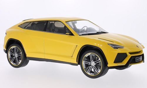 Lamborghini Urus  Metallic Yellow  2012  Model Car  Ready Made  Mcg 1 18