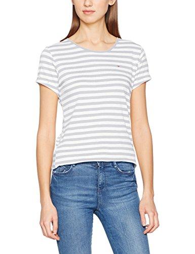 White Bianco Light T Jeans Grey Tommy Snow Shirt Htr Donna YIwav