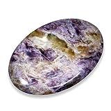 Charoite Thumb Stone For Sale