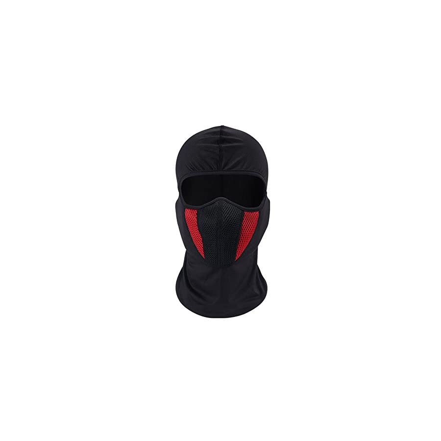 Windproof Face Mask Balaclava Hood,Cold Weather Motorcycle Ski Mask,Ultimate Thermal Retention in Outdoors Hypo allergenic Moisture Wicking