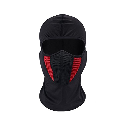 Windproof Face Mask Balaclava Hood,Cold Weather Motorcycle Ski Mask,Ultimate Thermal Retention in Outdoors Super Comfortable Hypo allergenic Moisture Wicking