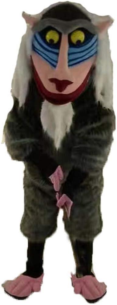 ARISMASCOTS Disfraz de Rafiki para niños de tamaño Adulto, diseño ...