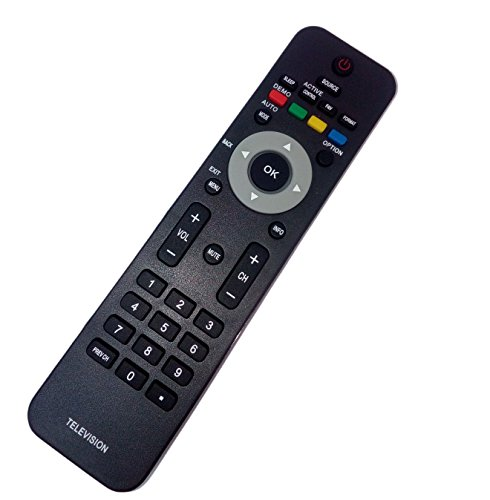Replaced Remote Control Compatible for Philips 19PFL4505D/F7 26MF337B27 32HFL3663SF7 37MF337B37B 42PFP5332D/37B 47PFL7403D/F7 52TA648BX37 32HFL3330D TV -  JustFine, LYSB01LX6W0XM-ELECTRNCS