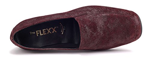 Femme Huge Grant Bordeaux Flexx Mocassin The wqanFCx