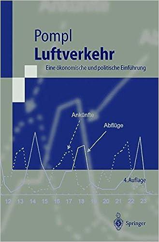 Luftverkehr: Eine ökonomische und politische Einführung (Springer-Lehrbuch) (German Edition)