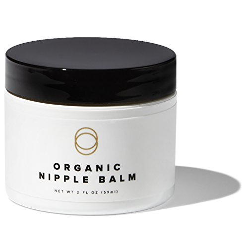 Cora Organic, Lanolin-Free, Baby-Safe Nipple Cream/Nursing Balm Soothes Nipples...