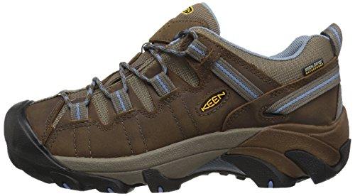 b41ecac14dc KEEN Women's Targhee II Waterproof Hiking Shoe,Dark Earth/Allure,6.5 M US