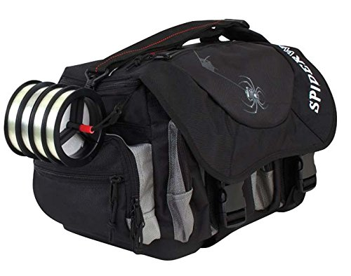Spiderwire Wolf Tackle Bag, 38.8-Liter, Black