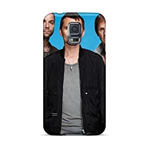 Protector Cell-phone Hard Cover For Samsung Galaxy S5 (JtK6512yRew) Customized Attractive Muse Band Pictures