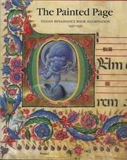 The Painted Page: Italian Renaissance Book Illumination 1450-1550 (Art & Design)