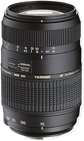 Tamron 70-300mm Di LD - Objetivo para Sony (70-300mm, f/4-5.6, Macro, 62mm), color negro