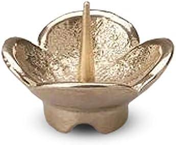 [해외]능 작 (nousaku) 황동 201020 나노 촛대 골드 H28 φ 37mm 조명 부속 (히 다) / Nousaku Brass 201020 Nanoa Candlestick Gold H28 φ37mm Lantern