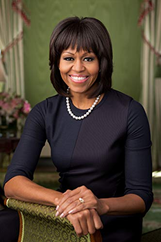 Home Comforts Laminated Poster Michelle Obama Official 2Nd Term February 2012 Portrait First Lady Vivid Imagery Poster Print 24 x 36
