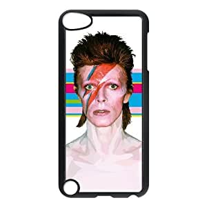 iPod Touch 5 funda Negro [PC dura del caso + HD Pattern] David Bowie® Series [Numeración: JJJJDHKOS8566]