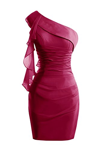 Chiffon Burgundy Ruffles 2016 with Dresses Summer Short Dora Mother Women's Bridal aq1tpwBv