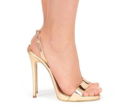 alla Club Pumps Party Dress Heel Scarpe Taglie GAOGENX EU35 Stiletto 35 donna da 44 dalla Sandali wU1FO