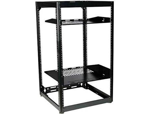 Sanus CFR1620-B1 Component Series 20U Stackable Skeleton Rack 35 Black