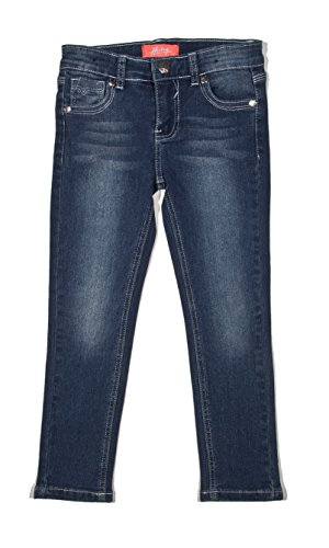Old Navy Classic Rise (7H027(S) - Super Stretch 5 Pockets Skinny Jeans for Girls in Washed Blue Size)