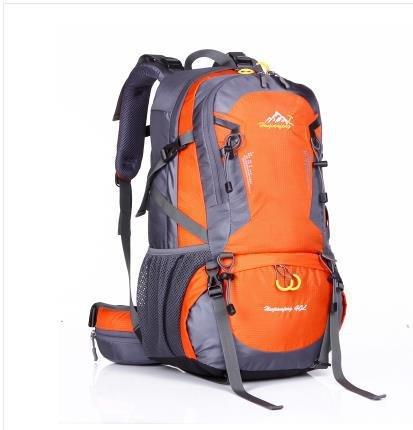 NUEVO PAQUETE DE L bolsas de escalada, Hombres Mochilas con soporte exterior Mass–Mochila de senderismo (, naranja naranja