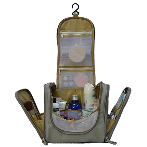 Toiletries Bathroom Travel Bag Organizer For Women Makeup Or Men Shaving Kit New Ebay
