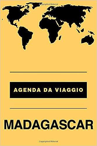 Agenda da viaggio Madagascar: Diario | Taccuino per scrivere ...