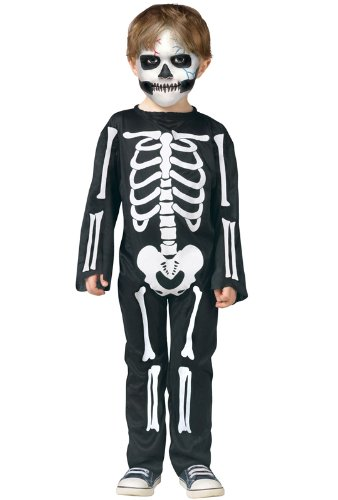 Scary Skeleton Toddler Costume Small 24 Months -2T]()