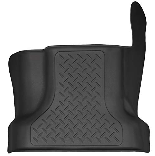 Husky Liners 83361 Black Front Center Hump Fits 15-19 F150, 2017-19 F250/F350 SuperCrew/SuperCab ()