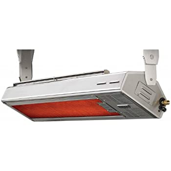 Lynx LHEM48 NG 35000 BTU Ceiling Mount Natural Gas Infrared Patio Heater