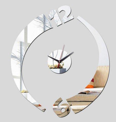 Reloj de pared Reloj creativo para salón dormitorio shop WordArt decorativos para el hogar: Amazon.es: Hogar