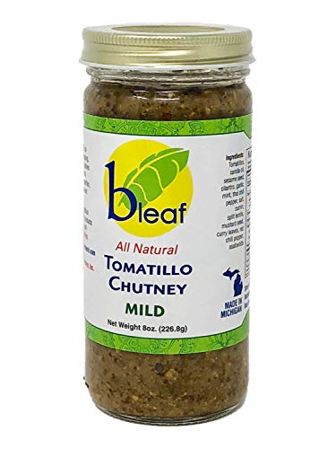 Bleaf All Natural Tomatillo Chutney - Mild