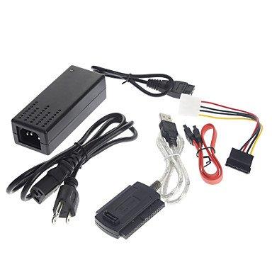 azazaz USB 2.0 to IDE SATA S-ATA 2.5 3.5 HD HDD Adapter Cable(5 pcs) by azazaz