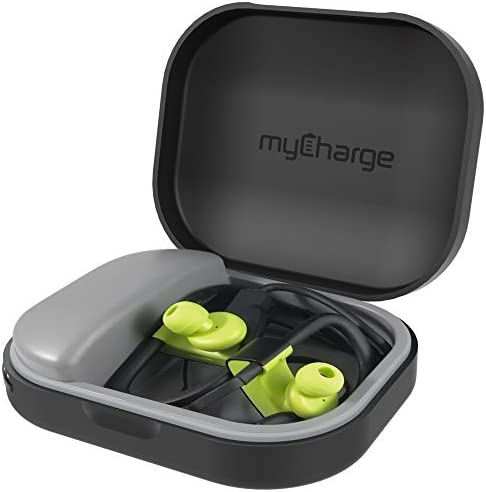 myCharge PowerGear Tunes Protective Charging Case for Earbuds Headphones 1000 mAh 1A Output