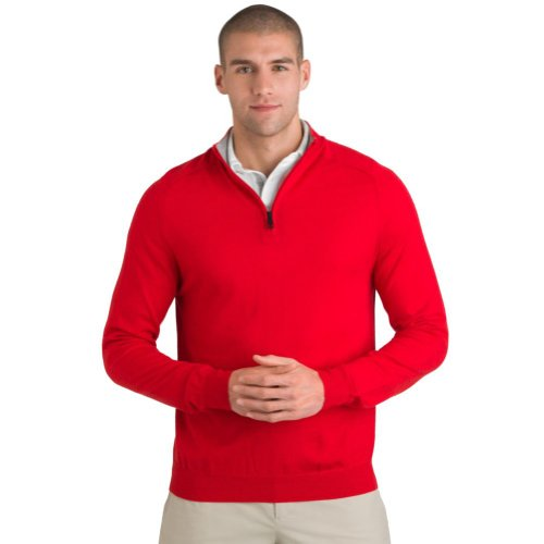 aquascutum-golf-mens-funnel-neck-half-zip-sweater-small-red