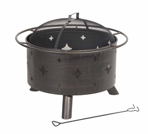 DeckMate Kay Home Product's Lantana Steel Fire Bowl ()