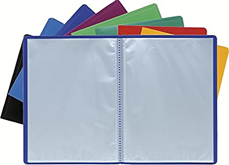 Exacompta Soft PP Display Book Red A4 40 Pockets