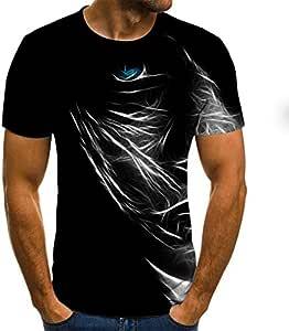 Camiseta 3D Camiseta Hombre Verano Camiseta 3D Impreso ...