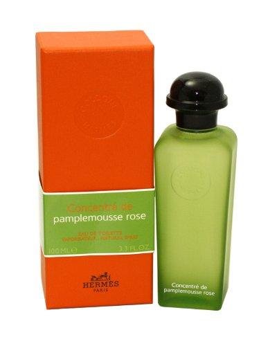 Hermes Concentre De Pamplemousse Rose Eau De Toilette Spray for Women, 3.3 Ounce