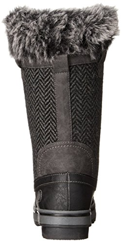 Boot Northside Women's Bishop Snow Charcoal txrwXSqxR