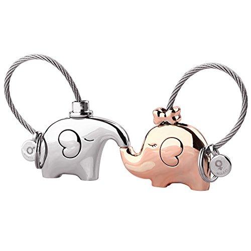 VT BigHome couples keychain lovers key ring women's bag charm gift Trinket pendant for car key chain
