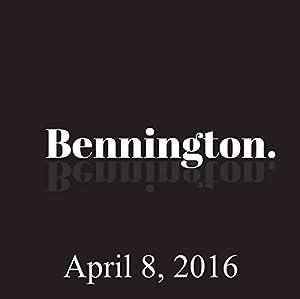 Bennington, April 8, 2016 Radio/TV Program