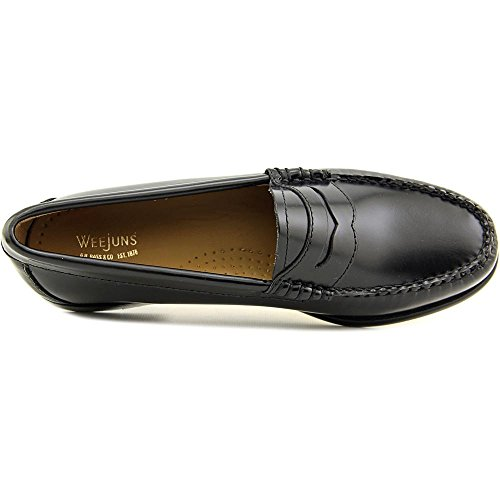 Gh Bass & Co. Womens Whitney Penny Mocassino In Pelle Nera