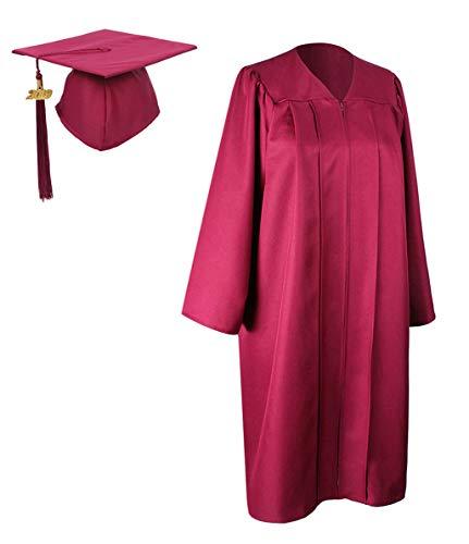 GraduationForYou Matte Graduation Gown Cap Tassel With 2018+2019 Year Charm ()