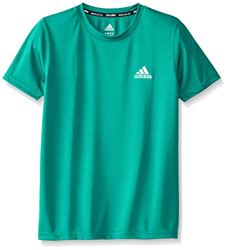 adidas Boys Climalite Short Sleeve Tee