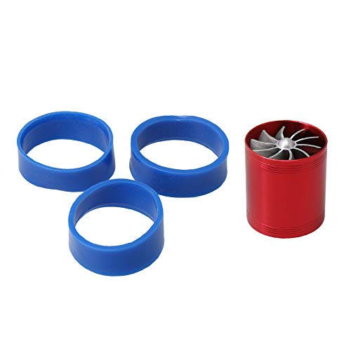 RDEXP Metal DLL002 F1-Z Air Intake Gas Fuel Saver Fan Turbine Turbocharger Saver Intake Single Supercharger Turbine Fan: