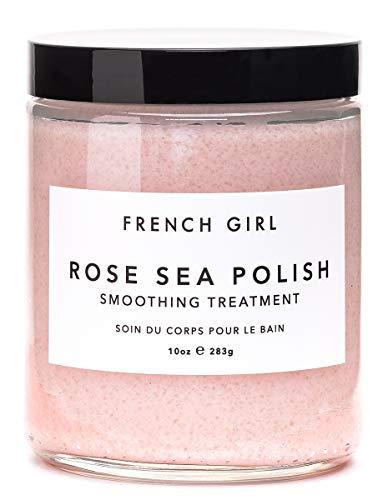 French Girl Organics - Organic/Vegan Sea Salt Body Polish (Rose/Vervaine) ()