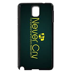 never cry for someone who dont deserve it Samsung Galaxy Note 3 Cell Phone Case Black xlb2-061546