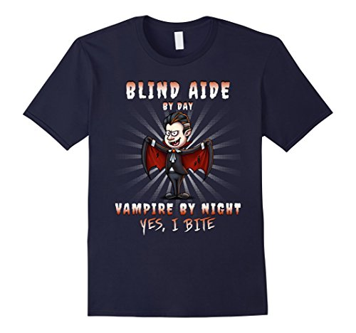 Blind Man Halloween Costume (Mens Blind Aide Halloween Party Costume Large Navy)